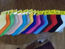 WOMEN SLOUCH SOCKS SZ 9-11 ATHLETIC U-CHOOSE FROM 17 COLORS