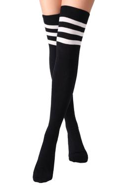 Womens Fashion Patterned Colorful Knee High Socks Stocking C