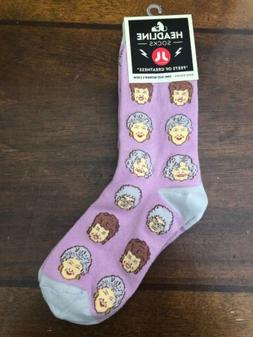Headline Socks Women's Golden Girls One Size New Purple