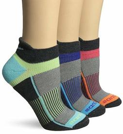 Saucony Womens Inferno No Show 3-Pack Running/Athletic Socks