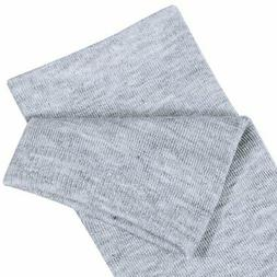 Chalier Womens Long Socks Striped Thigh, 1 Solid Color, Size