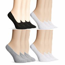 6 or 12 Women's Quality Liner Low Cut Loafer Peds Socks
